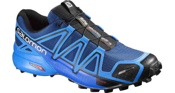 Salomon Speedcross 4 CS Trailrunning Shoes Men blue depth/bright blue/black